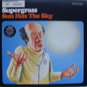 Supergrass - Sun Hits The Sky 7 Inch White Vinyl