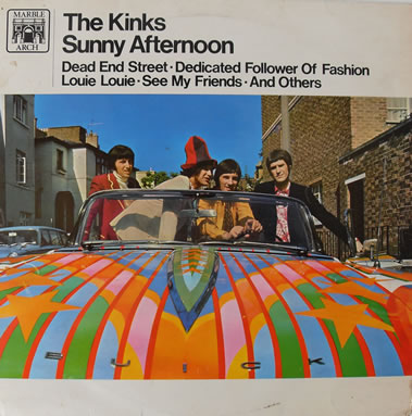 The Kinks - Sunny Afternoon 12 Inch Vinyl