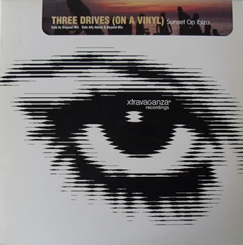 Three Drives On A Vinyl - Sunset On Ibiza 12 Inch Vinyl