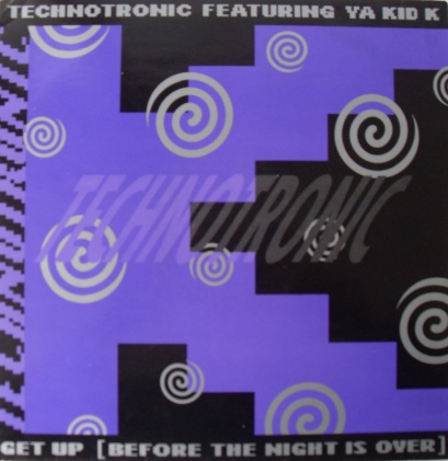 Technotronic Featuring Ya Kid K - Get Up (Before The Night Is Over) 12 inch vinyl