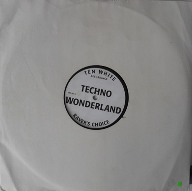 Techno Wonderland - Raver's Choice 12 Inch Vinyl