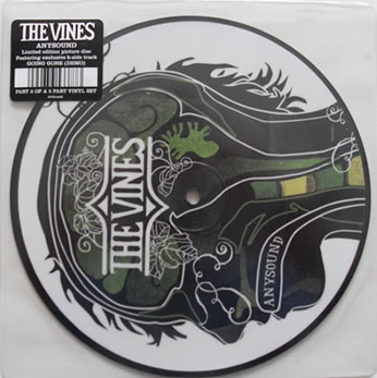 The Vines - Anysound Picture Disc 7 Inch Vinyl