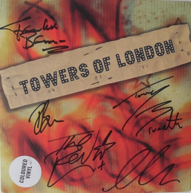 Towers Of London - On A Noose 7 Inch Signed Vinyl