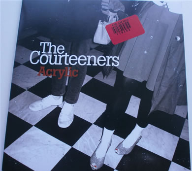 The Courteeners - Acrylic No 1328 7 Inch Vinyl