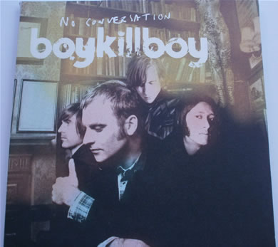 Boy Kill Boy - No Conversation No 0817 gatefold x2 vinyl includes orange 7 Inch Vinyl