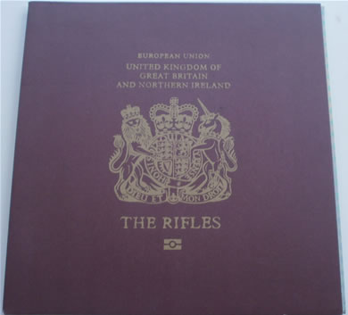 The Rifles - I Could Never Lie - gatefold 7 Inch Vinyl