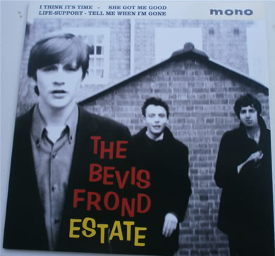 The Bevis Frond - The Bevis Frond Estate E.P MONO 7 Inch Vinyl