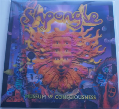 Shpongle - Museum Of Consciousness NEW L.P gatefold 3D hologram cover 12 inch vinyl