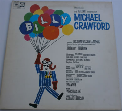 Billy with Michael Crawford 12 Inch Vinyl