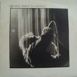 U2 – Wide Awake In America 12 inch vinyl