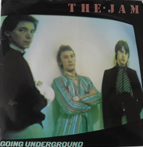 The Jam - Going Underground 7 Inch Vinyl