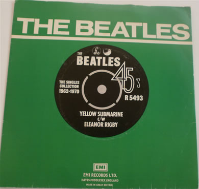 The Beatles - Yellow Submarine / Eleanor Rigby 7 Inch Vinyl