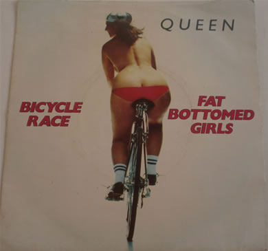 Queen - Bicycle Race / Fat Bottom Girls 7 inch vinyl
