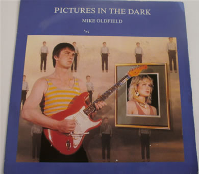 Mike Oldfield - Pictures In The Dark / Legend 7 inch vinyl
