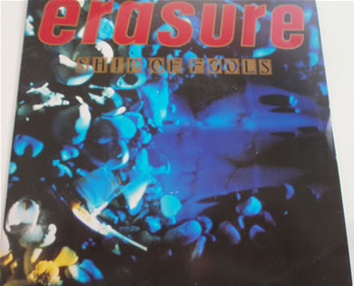 Erasure - Ship Of Fools 7 inch vinyl