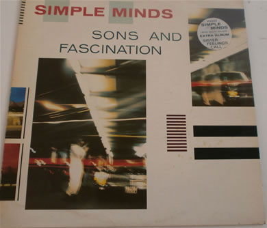 Simple Minds - Sons & Fascination 1981 12 Inch Vinyl