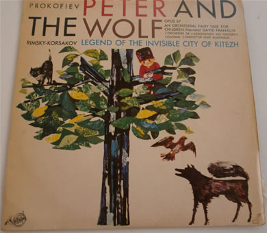 Peter & The Wolf - Prokofiev - FDY 2069 12 Inch Vinyl