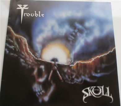 Trouble - The Skull 1985 12 inch vinyl