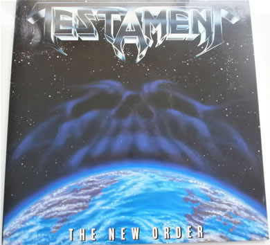 Testament - The New Order 1988 12 inch vinyl