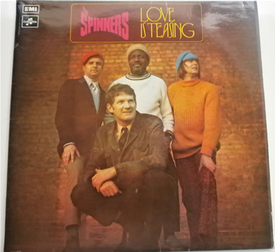 The Spinners - Love Is Teasing 1972 columbia 12 inch vinyl
