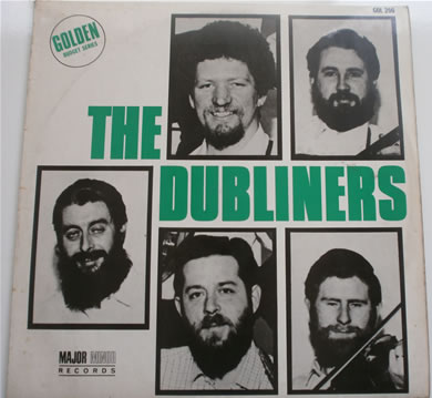 The Dubliners - The Dubliners 1968 major minor 12 inch vinyl
