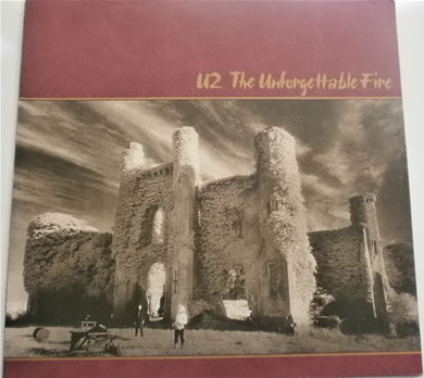 U2 - The Unforgettable Fire 12 Inch Vinyl