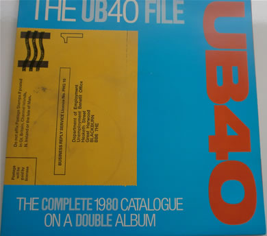 UB40 - The UB40 File The Complete 1980 catalogue on a double l.p 12 inch vinyl