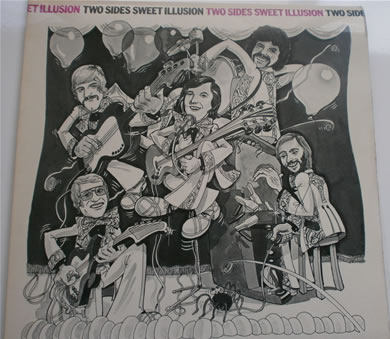 Sweet Illusion - Two Sides Of Sweet Illusion - fully signed by band 12 Inch Signed Vinyl