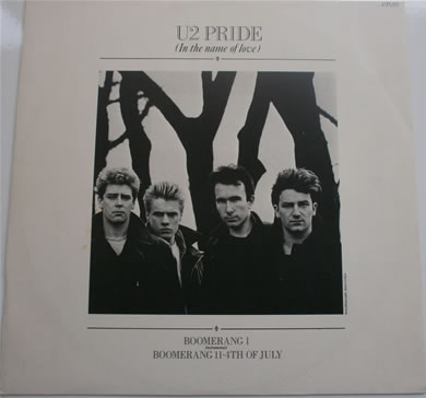 U2 - Pride ( in the name of love) 7 Inch Vinyl