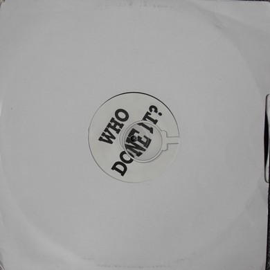 Who Done It - Or Not 12 Inch Vinyl