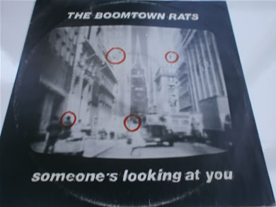 The Boomtown Rats - Someones Looking At You 12 inch vinyl