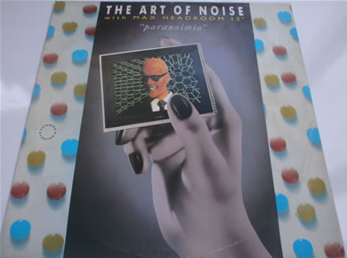 The Art of Noise (with Max Headroom)- Paranoimia 12 inch vinyl