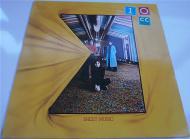 10cc - Sheet Music 1974 12 inch vinyl