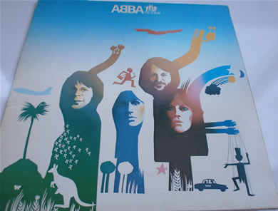 Abba - The Album 1977 12 inch vinyl