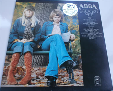Abba - Greatest Hits 12 inch vinyl