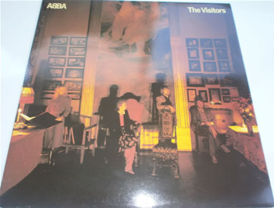 Abba - The Visitors 1981 12 inch vinyl