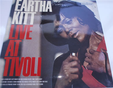 Eartha Kitt - Live At Tivoli 12 inch vinyl