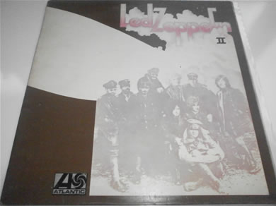 Led Zeppelin - II 1969 red/plum labels 588198 Lemon Song EX 12 inch vinyl
