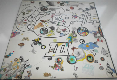 Led Zeppelin - III 1970 red/plum labels 2401002 12 inch vinyl