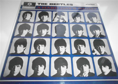 The Beatles - A Hard Days Night - silver black labels boxed EMI logo 1969 N/Mint 12 inch vinyl