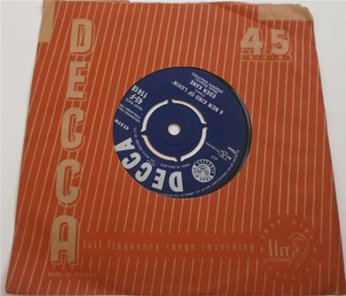 Eden Kane - Forget Me Not / A New Kind Of Lovin 1961 7 Inch Vinyl