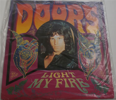 The Doors - Light My Fire / People Are Strange 1991 re-issue 7 Inch Vinyl