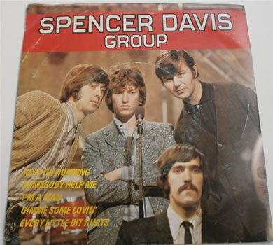 The Spencer Davis Group - E.P IEP10 ISLAND 1967 7 Inch Vinyl