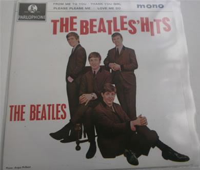 The Beatles - The Beatles Hit E.P GEP 8880 re-issue 7 Inch Vinyl