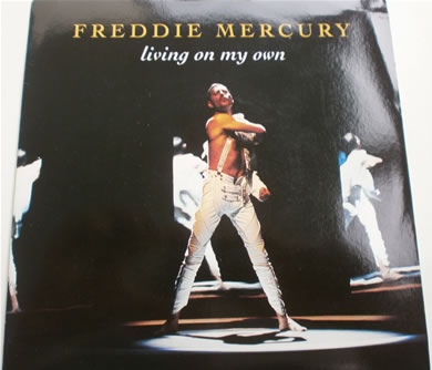 Freddie Mercury - Living On My Own 7 inch vinyl