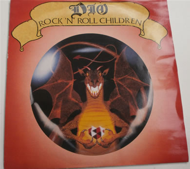 Dio - Rock N Roll Children / The Last In Line 1985 7 Inch Vinyl