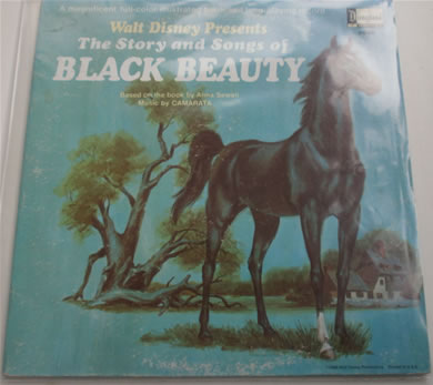 Black Beauty - Disney 3938 1966 12 Inch Vinyl