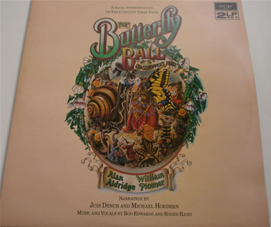 The Butterflys Ball & The Grasshoppers Feast narrated by Judy Dench & Michael Hordern 12 Inch Vinyl