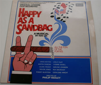 Happy As A Sandbag by Ken Lee 1975 12 Inch Vinyl