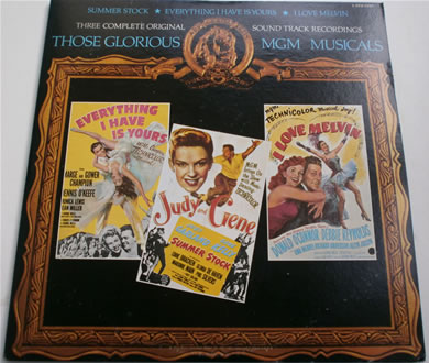 Those Glorious Musicals - Three Complete Original Soundtrack Recordings 12 Inch Vinyl